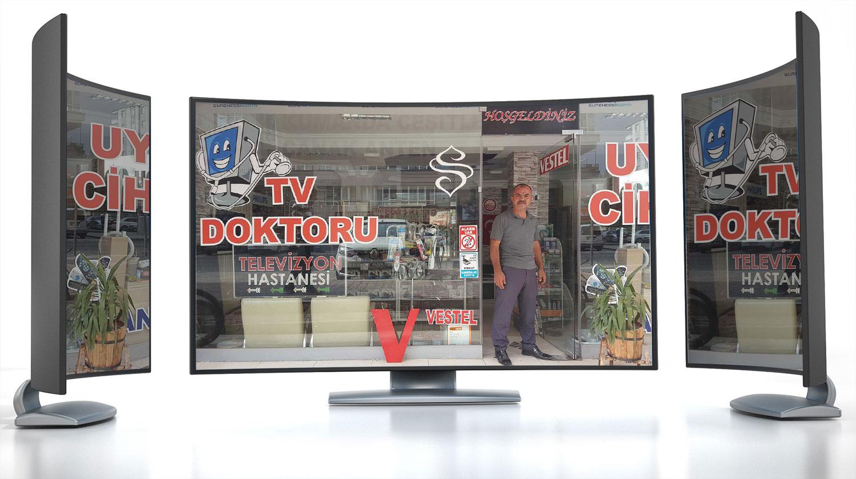kayseri televizyon servisi, şeref elektronik, hamit salcanlıer